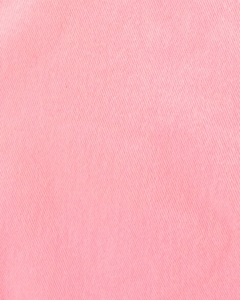 Salopette courte rose fluo
