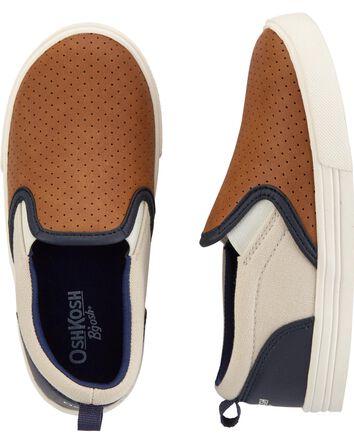 Colourblock Slip-On Shoes