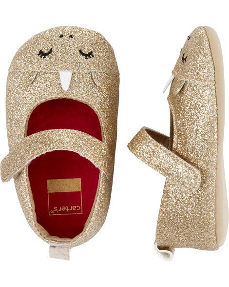 Unicorn Mary Jane Baby Shoes