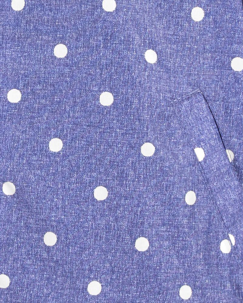 Polka Dot Midweight Jacket, , hi-res