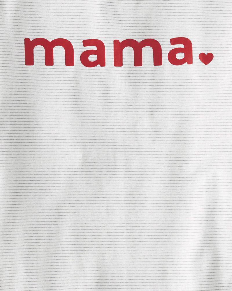 T-shirt en coton biologique Mama, , hi-res