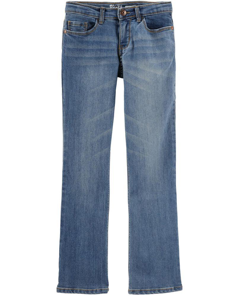 Jeans coupe botte - délavage bleu Upstate, , hi-res