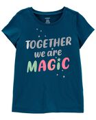 T-shirt en jersey Together We Are Magic , , hi-res