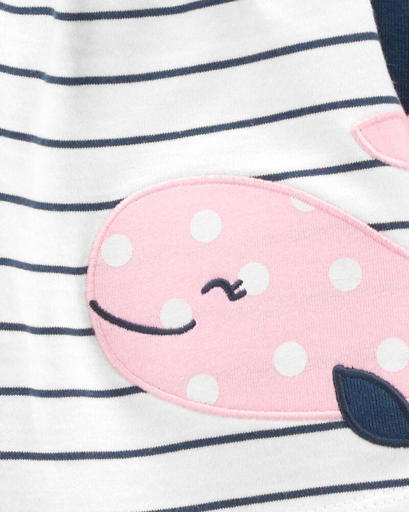 3-Piece Whale Little Short Set, , hi-res