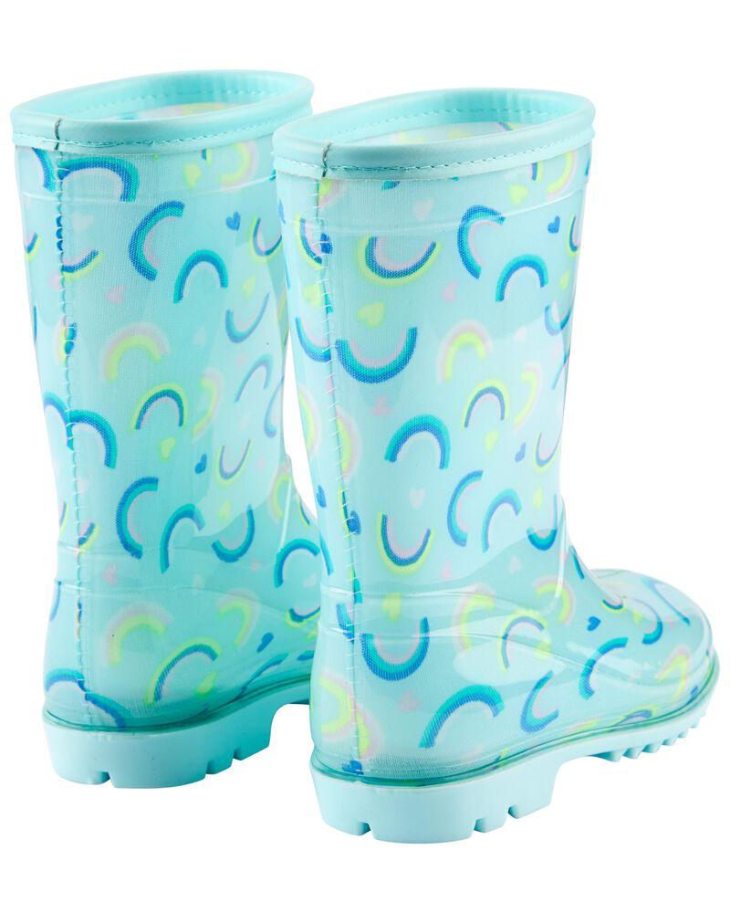 Rainbow Rain Boots, , hi-res