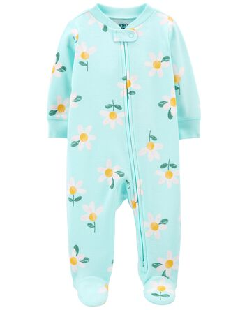 Daisy 2-Way Zip Cotton Sleep & Play