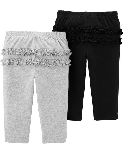 2-Pack Babysoft Pull-On Pants