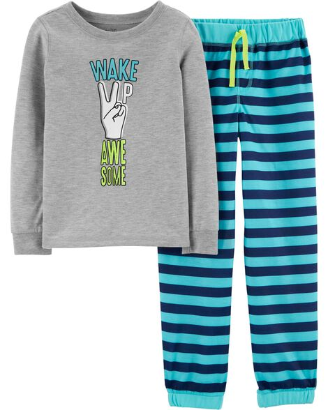 2-Piece Wake Up Awesome PJs
