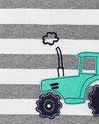 4-Piece Tractor 100% Snug Fit Cotton PJs, , hi-res