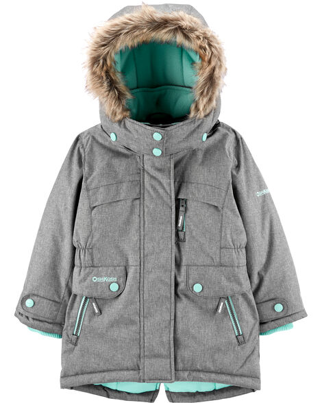 Fleece-Lined Heavyweight Hooded Parka
