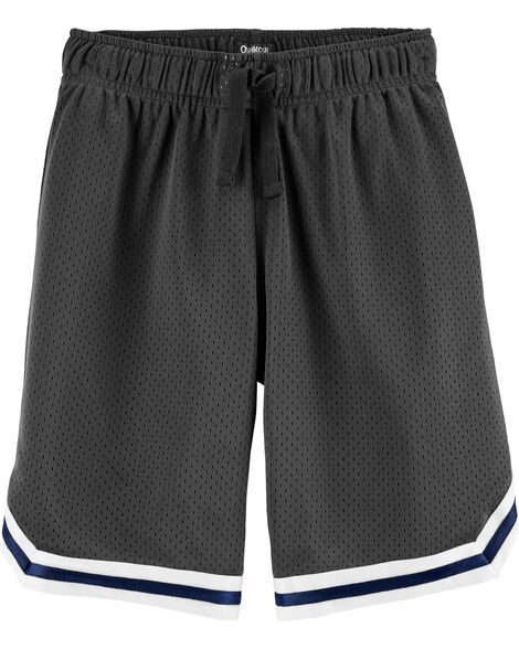 Short de basketball en filet