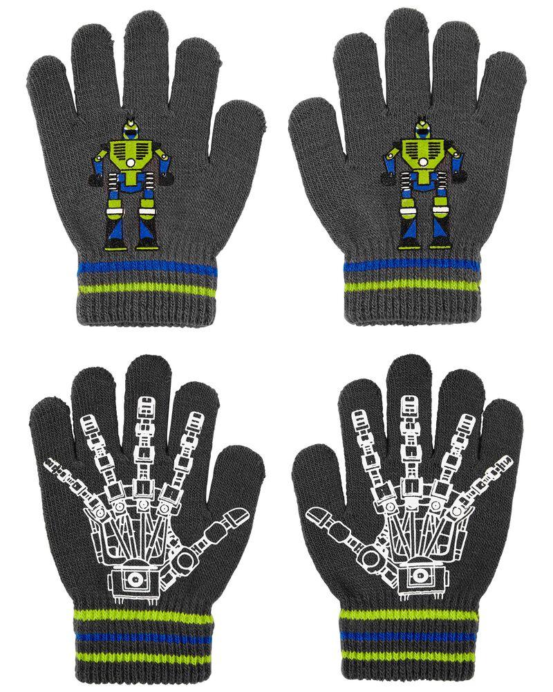 Emballage de 2 paires de mini gants robot KOMBI, , hi-res