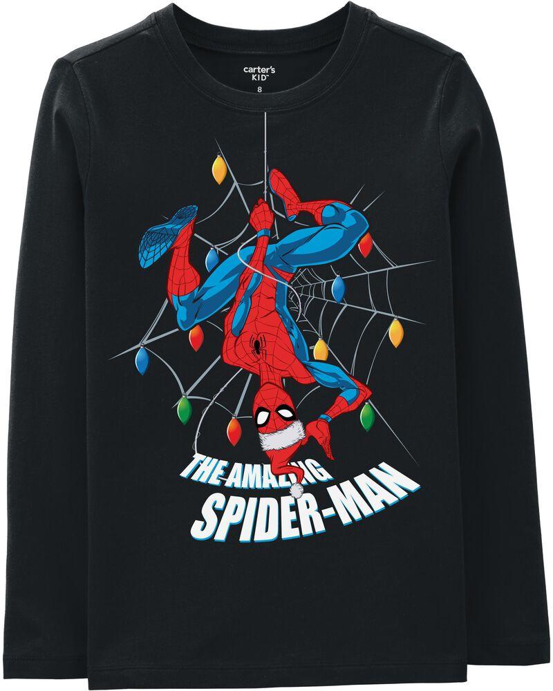 Glow Spider-Man Holiday Tee, , hi-res