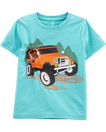 Truck Peek-A-Boo Jersey Tee