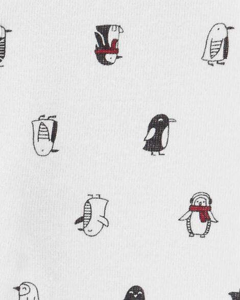 3-Piece Penguin Bodysuit & Sleep & Play Set