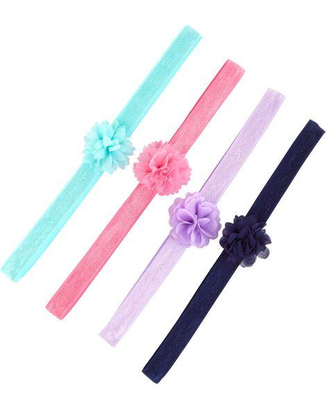 Paquet de 4 bandeaux à cheveux
