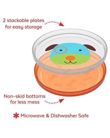 Zoo Smart Serve Non-Slip Plates