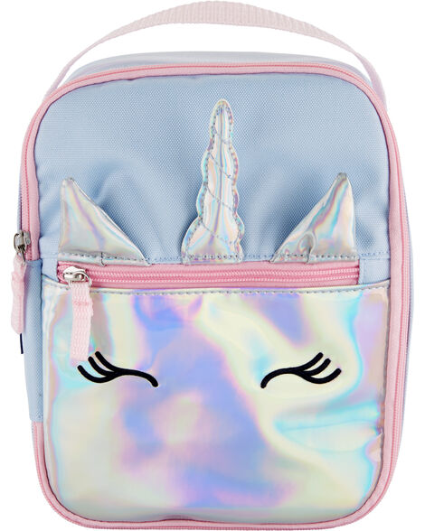 OshKosh Holographic Unicorn Lunch Bag