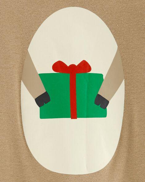 2-Piece Reindeer Coverall & Hat Set
