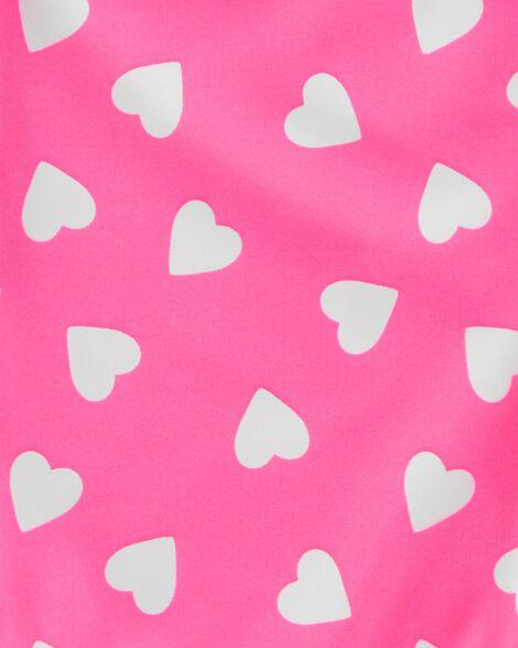 Neon Heart 1-Piece Swimsuit