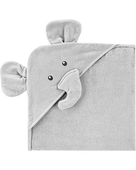 Serviette de bain à capuchon éléphant