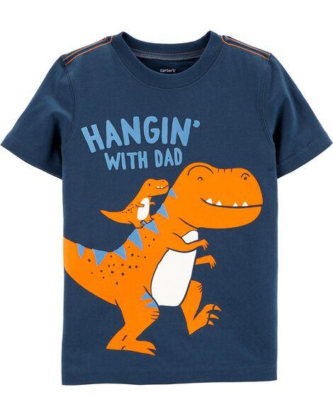 T-shirt en jersey à dinosaure Dad