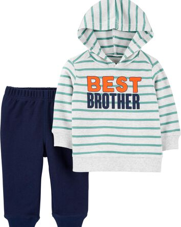 2-Piece Best Brother Hoodie & Jogge...
