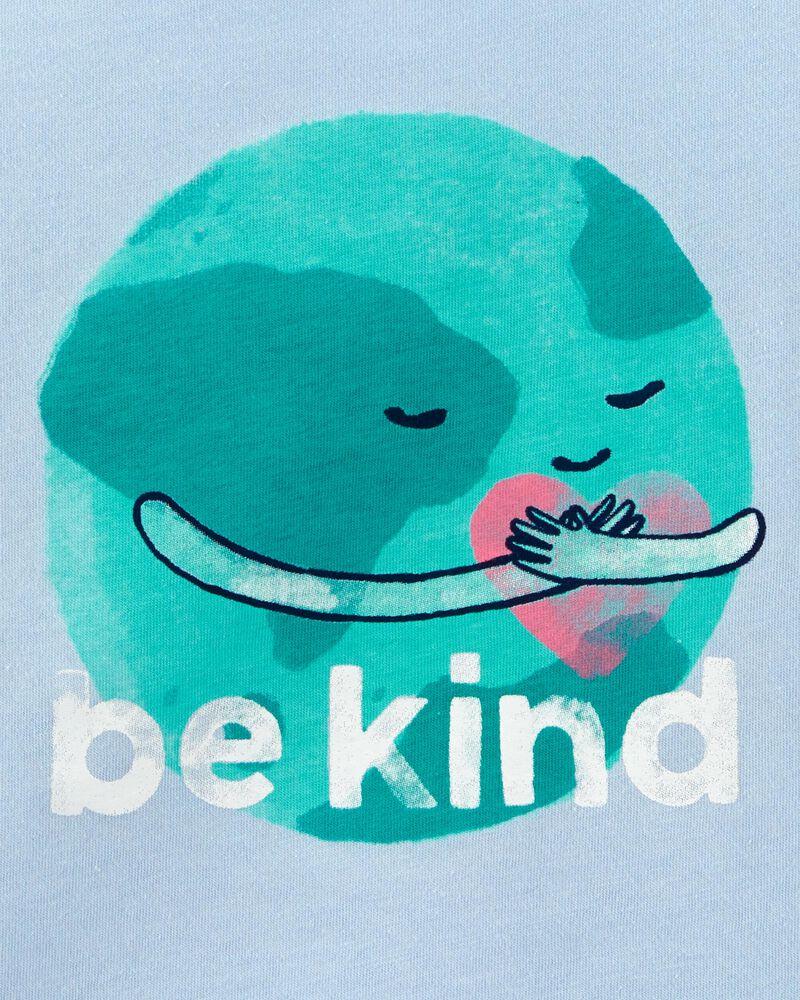 T-shirt en jersey Earth Be Kind , , hi-res