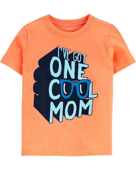 T-shirt en jersey I've Got One Cool Mom