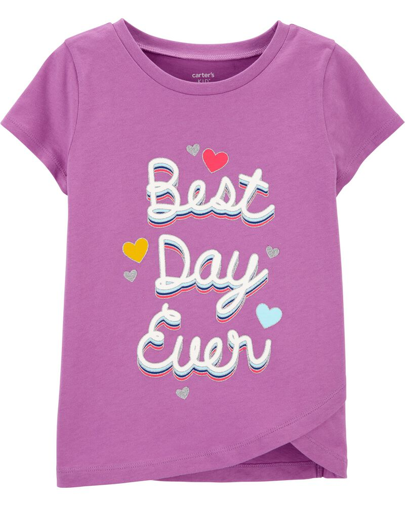 Best Day Ever Jersey Tee, , hi-res