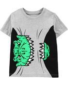 T-shirt à dinosaure Chomp, , hi-res