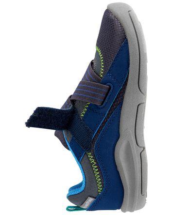 Athletic Bump Toe Sneakers
