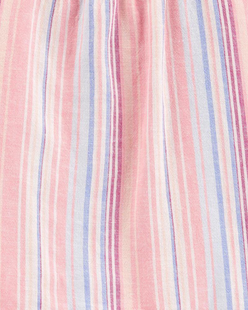 2-Piece Striped Tee & Short Set, , hi-res