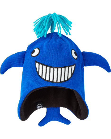 Fleece-Lined Moby The Whale Hat