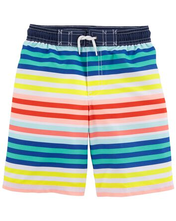 Rainbow Swim Trunks
