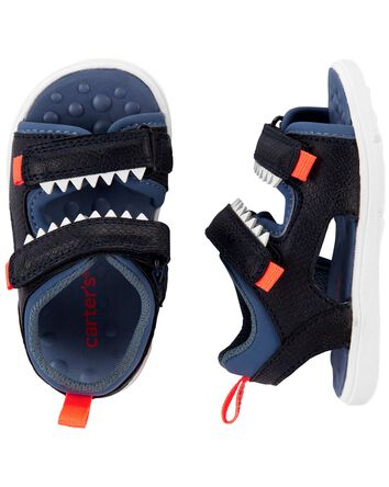 Sandales de jeu à dinosaures