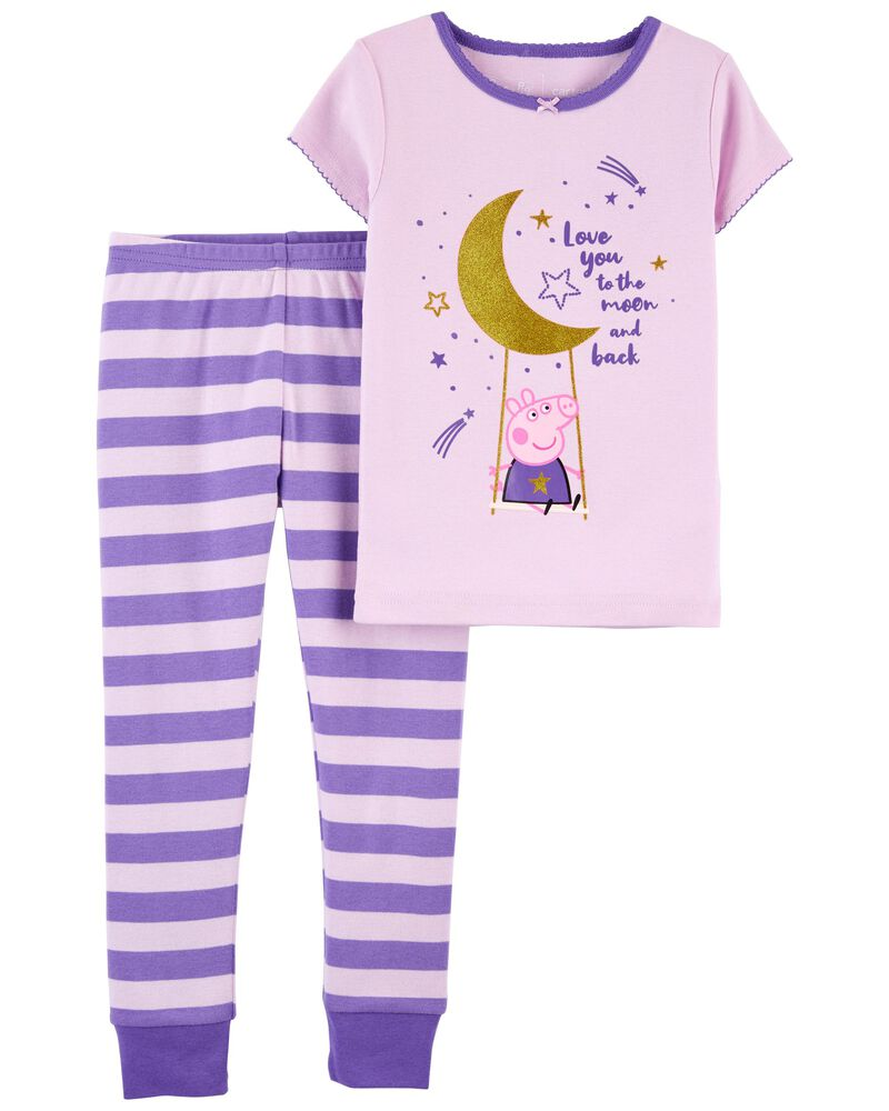 2-Piece 100% Snug Fit Cotton PJs, , hi-res