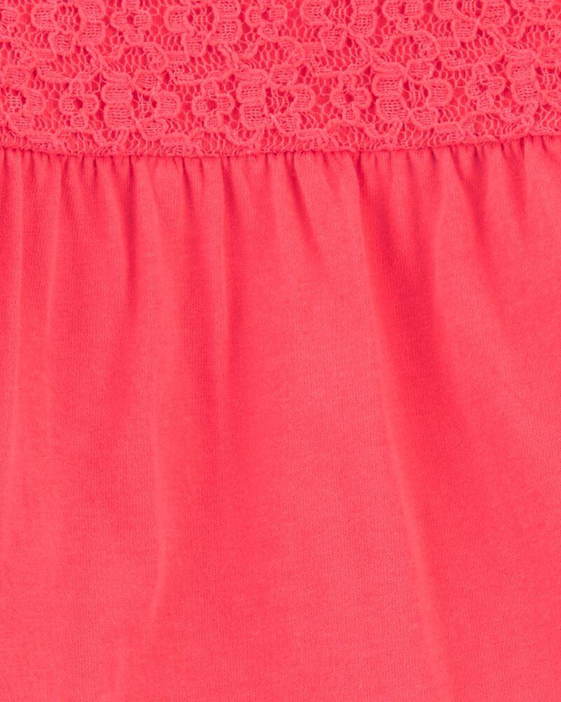 Ensemble 2 pièce cache-couche en dentelle et pantalon, , hi-res