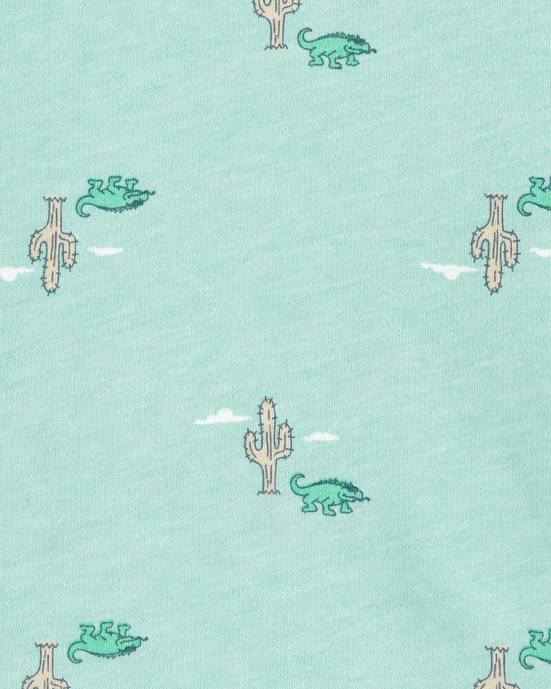 Débardeur à poche et cactus, , hi-res