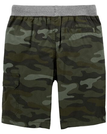 Camo Easy Pull-On Shorts