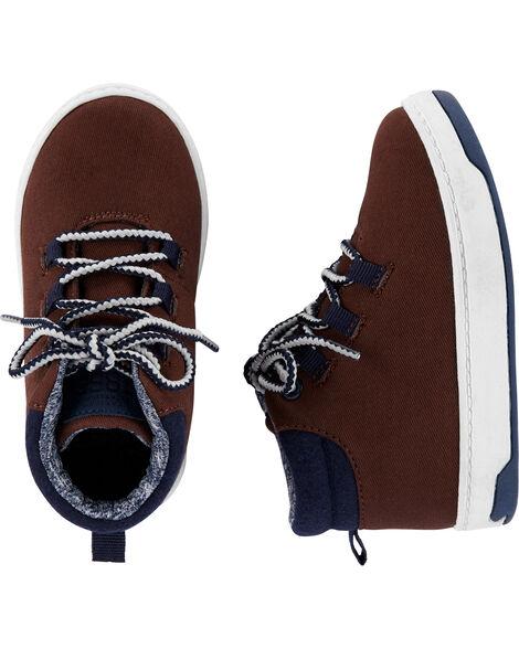 Buffalo Check Wool Boots