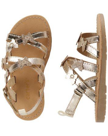 Sandales à papillon