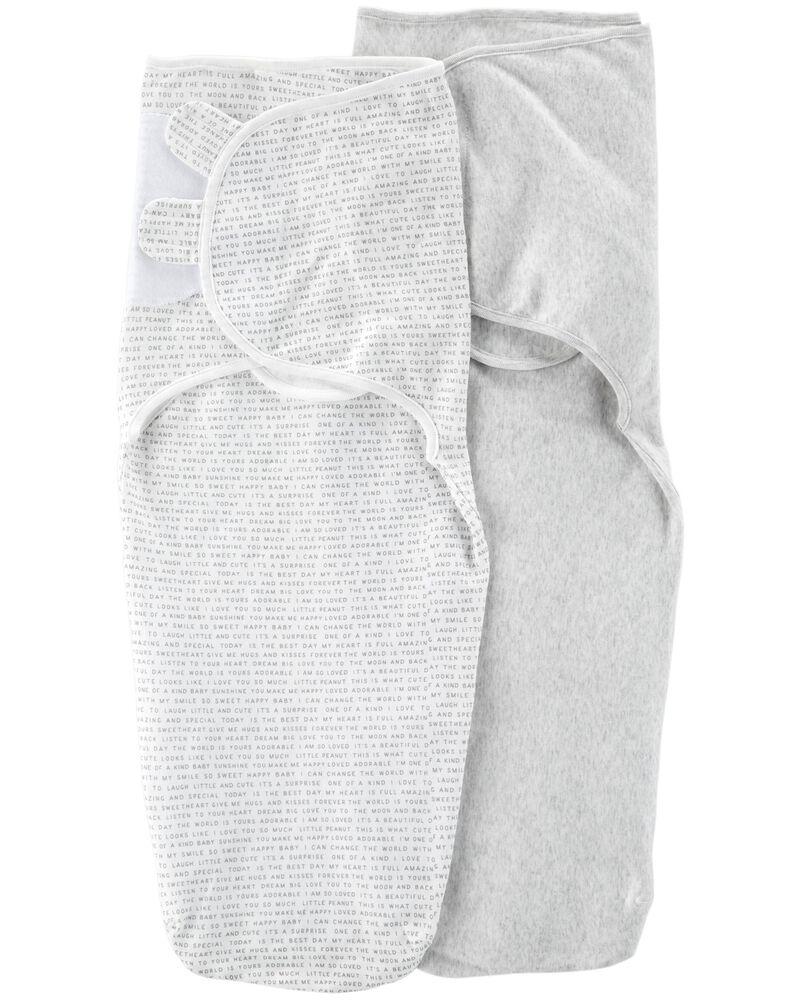 2-Pack Babysoft Easy Swaddle Blankets, , hi-res