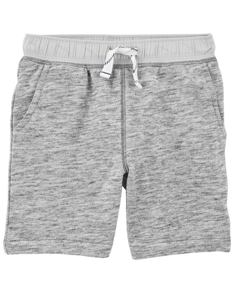 Pull-On Knit Shorts, , hi-res