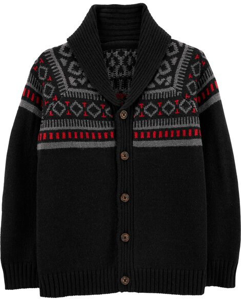 Winter Wool Cardigan