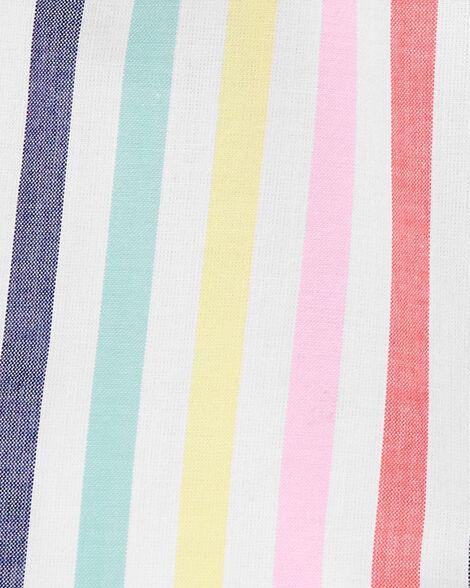 Rainbow Flutter Sleeve Top