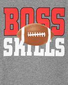 T-shirt en jersey de style superposé à motif football, , hi-res