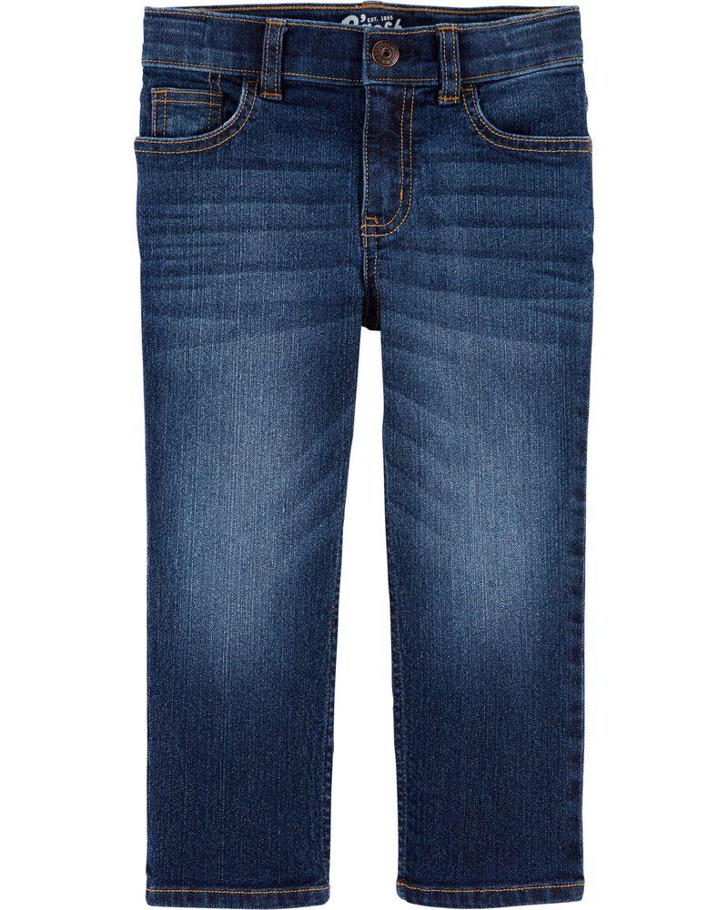 Classic Jeans - Rail Tie True Blue Wash, , hi-res