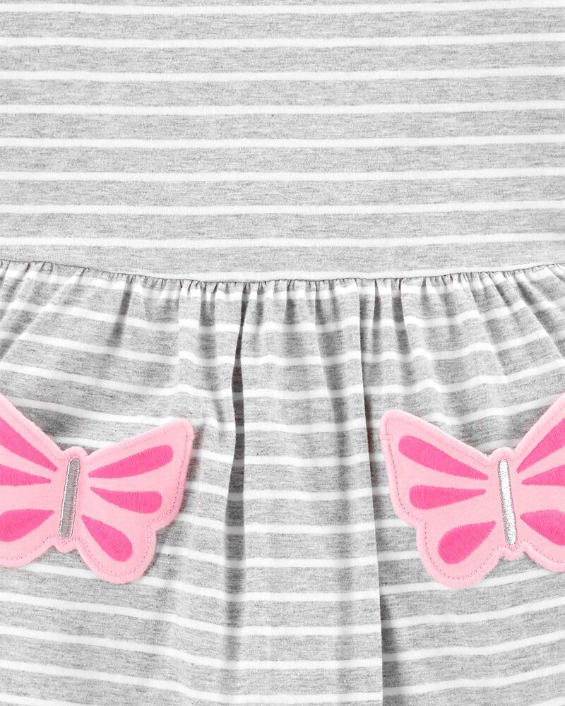 Robe à poche papillon, , hi-res