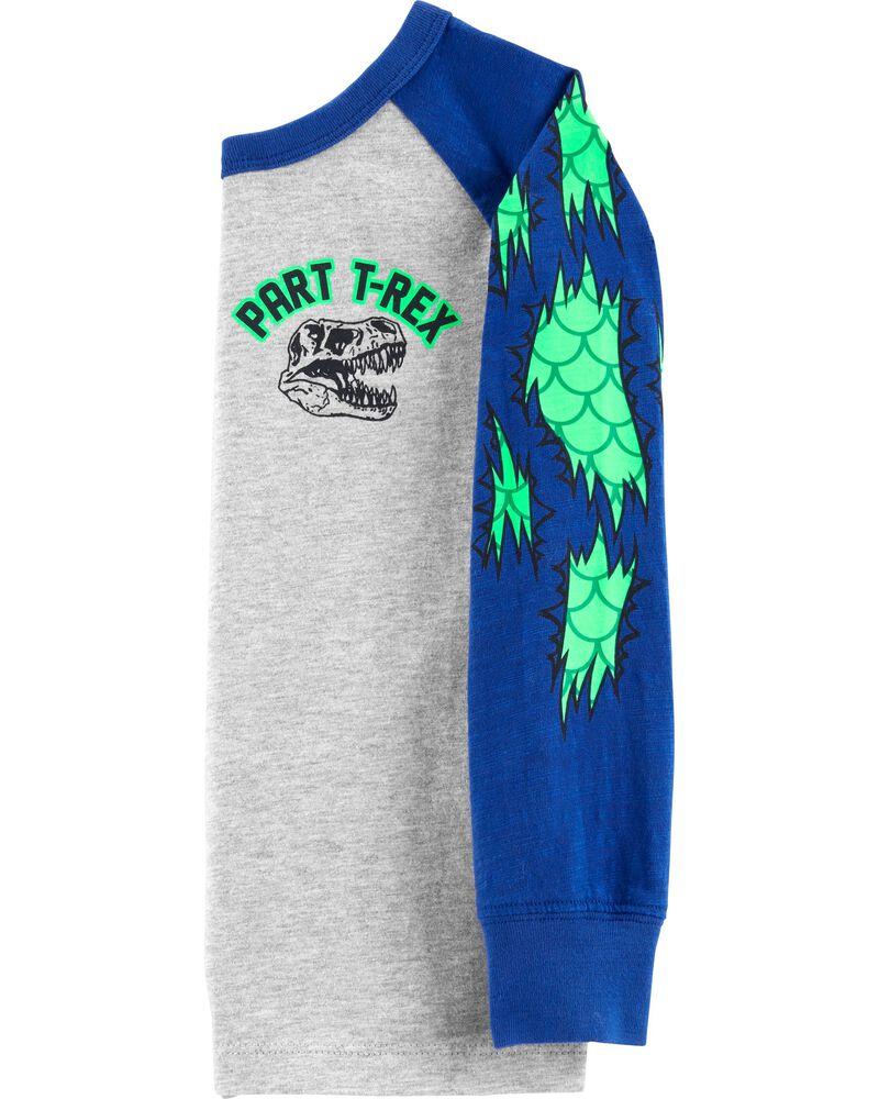 T-shirt Part T-Rex Dinosaur, , hi-res